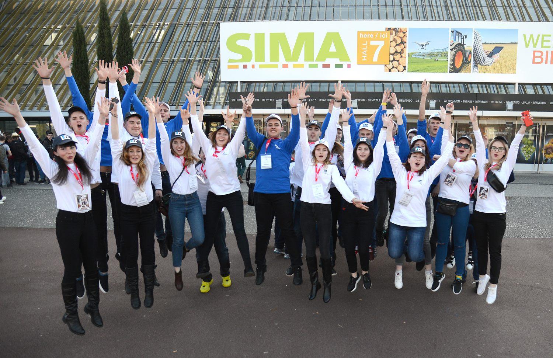 Студентки СНАУ, переможниці аграрного конкурсу відвідали французьку виставку SIMA 2019