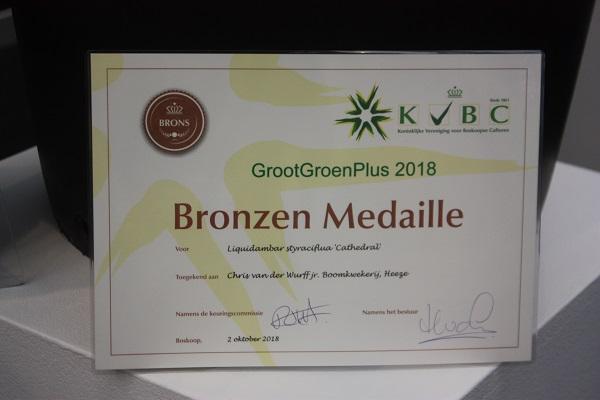 Парад медалістів GrootGroenPlus 2018