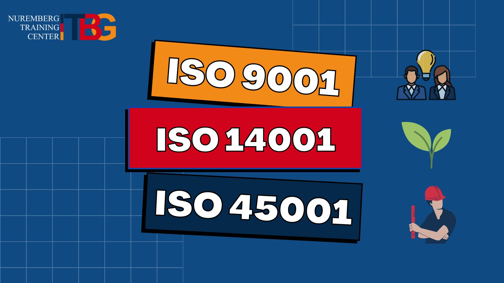 """ИНТЕНСИВНЫЙ КУРС ПО 3 СТАНДАРТАМ """"ISO 90001, ISO14001, ISO 45001"""""""